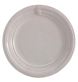 "Juliska Acanthus Dinner Plate - Whitewash - 11""W"