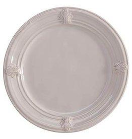 """Juliska Acanthus Dessert/Salad Plate - Whitewash - 9""""W"""