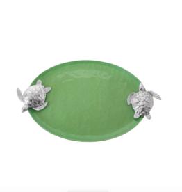 Mariposa Green Sea Turtle handle Serving Tray