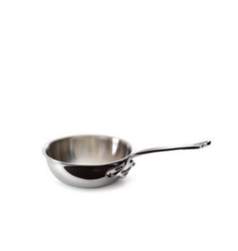 Mauviel 1830 M'cook Curved Splayed Saute Pan - 20cm / 1.9qt - no lid