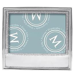 "Mariposa Beaded Classic Frame - 5"" X 7"""