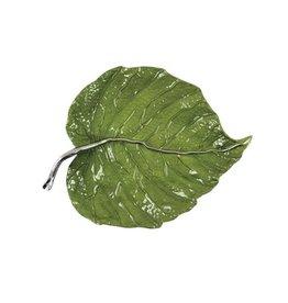 Mariposa Leaf Platter - Green