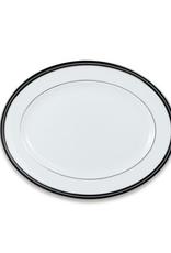 "kate spade for Lenox Kate Spade Union Street Oval Platter - Platinum - 13""L"