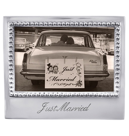 Mariposa Statement Frame - Just Married