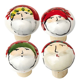 Vietri Old St. Nick Cork Stoppers - Assorted