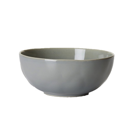 Juliska Puro Cereal/Ice Cream Bowl - Mist Grey Crackle