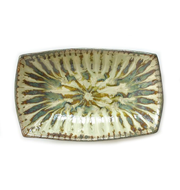 Good Earth Pottery Sparrow Rectangular Serving Bowl