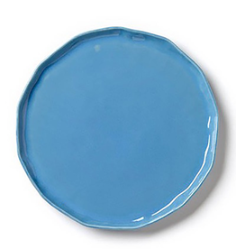 Vietri Forma Small Round Platter/Charger - Surf