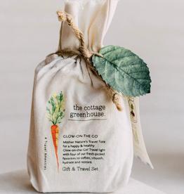 The Cottage Greenhouse Veggies Gift & Travel Set