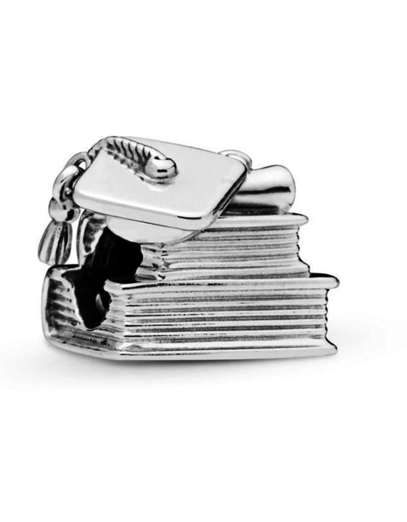 Pandora Graduation silver charm