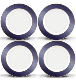 Lenox Brian Gluckstein Darius Gold 4-piece Tidbit Plate Set