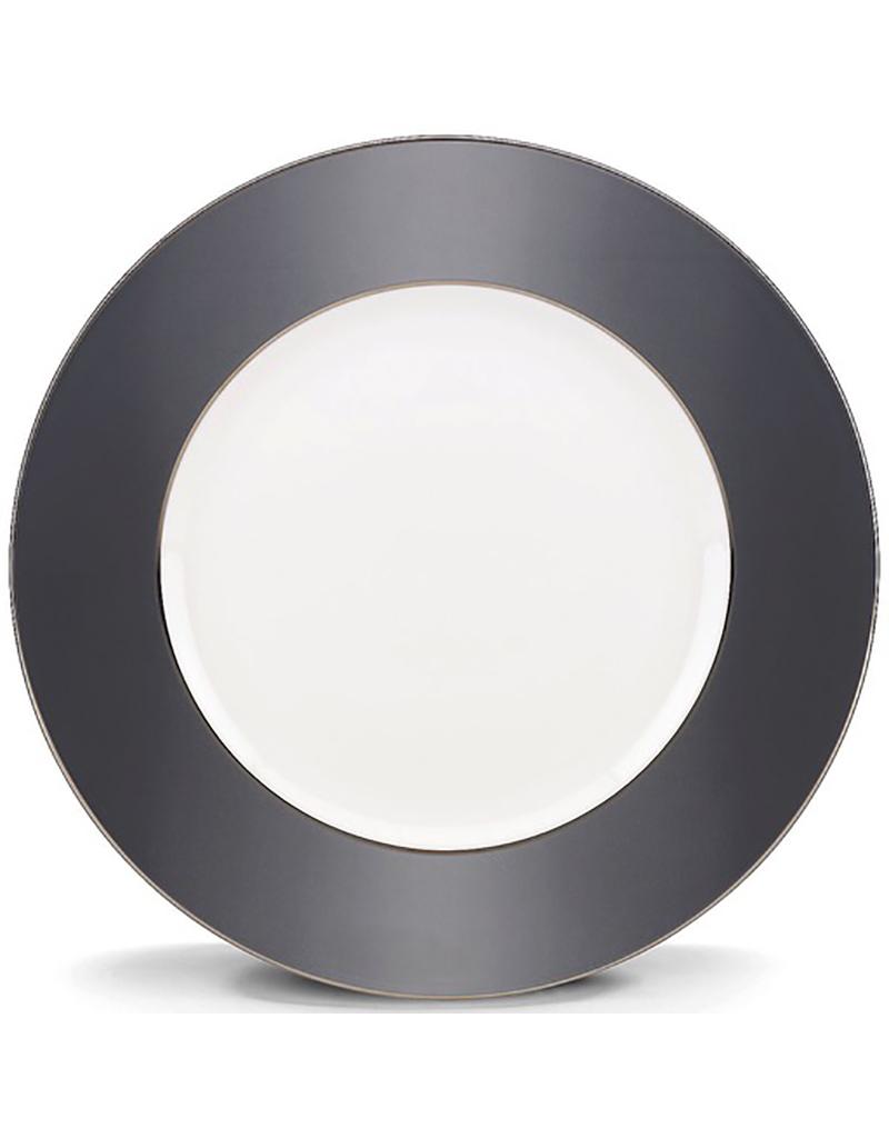 """Lenox Brian Gluckstein Darius Silver 10.75"""" Dinner Plate"""