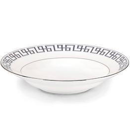 Lenox Brian Gluckstein Darius Silver Rim Soup Bowl