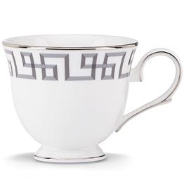 Lenox Brian Gluckstein Darius Silver Teacup