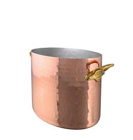 Mauviel 1830 M'30 Oval Champagne Bucket - 7.7 qt