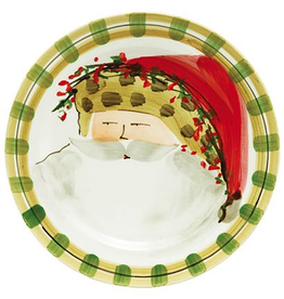 Vietri Old St. Nick Dinner Plate - Animal Hat