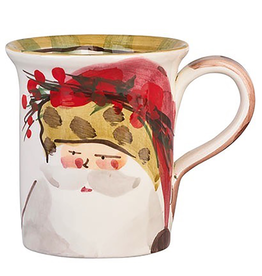 Vietri Old St. Nick Mug - Animal Hat