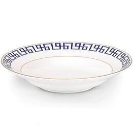 Lenox Brian Gluckstein Darius Gold Rim Soup Bowl