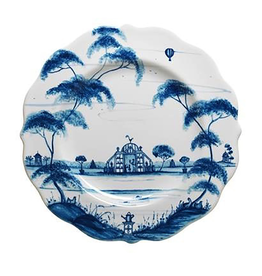 Juliska Country Estate Dessert/Salad Plate Conservatory Delft Blue