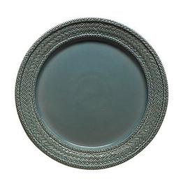 Juliska Le Panier Charger/Server Plate - Blue Chambray