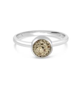Dune Jewelry Round Stacker Ring - Crescent Beach - Size 6