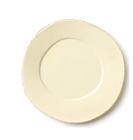 Vietri Lastra American Dinner Plate - Cream