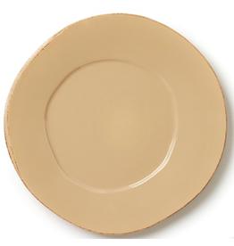 Vietri Lastra American Dinner Plate - Cappuccino