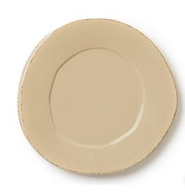 Vietri Lastra Salad Plate -  Cappuccino