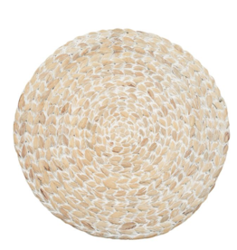Water Hyacinth Round Place Mat - Set of 2