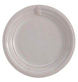 "Juliska Discontinued Acanthus Dinner Plate - Whitewash - 11""W"