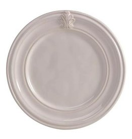 "Juliska Discontinued Acanthus Side Plate - Whitewash - 7.5""W"