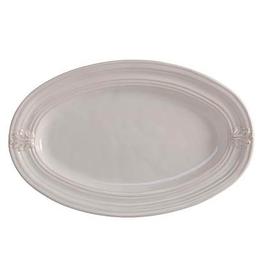 Juliska Acanthus Medium Platter - Whitewash