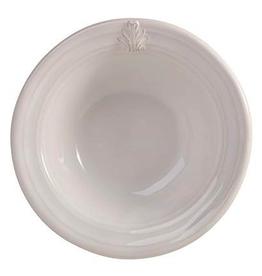 Juliska Discontinued Acanthus White Cereal/Ice Cream Bowl  - Whitewash
