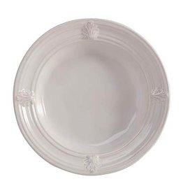 "Juliska Acanthus Ice Cream Bowl - White - 7.5""W x 2""H"