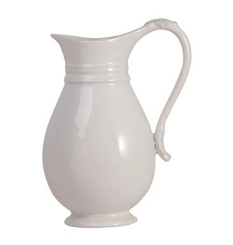 "Juliska Acanthus Pitcher - Whitewash - 10.5""H - 2Qt"
