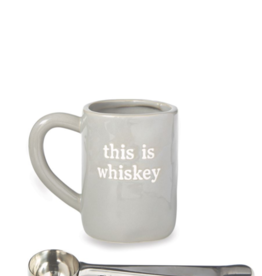 This is Whiskey Ceramic Mug Set