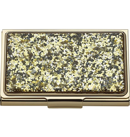 Lenox kate spade Simply Sparkling Gold Glitter Card Holder