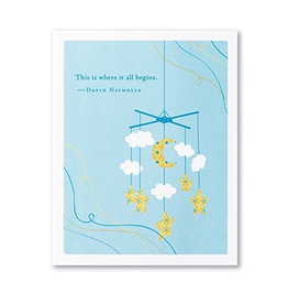 Where it All Begins Baby Card