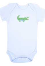 Alligator Onesie - Blue