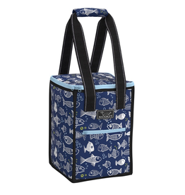 Scout by Bungalow Pleasure Chest Soft Cooler - One Fish Blue Fish