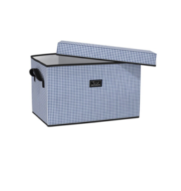 Scout by Bungalow Rump Roost LG Storage Bin -  Brooklyn Checkham
