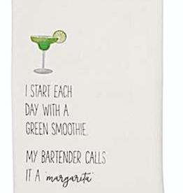 Beach Drinking Hand Towel - Start Maragita Smoothie