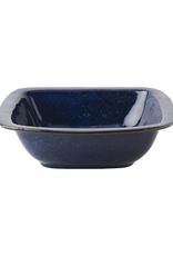 "Juliska Puro Dappled Cobalt 10.5"" Rounded Square Serving Bowl"