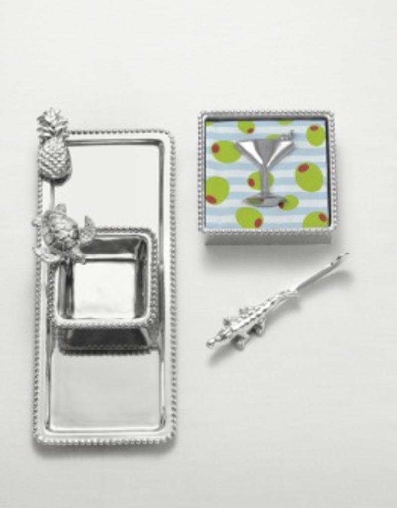 Mariposa Charms Rectangular Platter