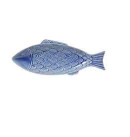 Juliska Berry and Thread Sea Life Fish Platter - Delft Blue