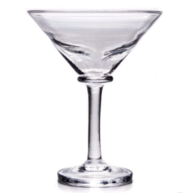 Simon Pearce Woodbury Martini Glass