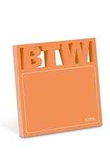 BTW Diecut Sticky Notes
