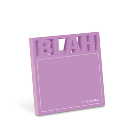 Blah Diecut Sticky Notes