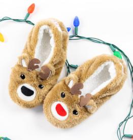 Oh, Deer Reindeer Footsies - X-Large (10+)