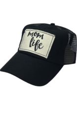 Mom Life Black Women's Trucker Hat